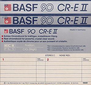 BASF CR EII Cassette Inlay Cassettes Pinterest