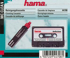 Hama MC Cleaning Cassette Basic