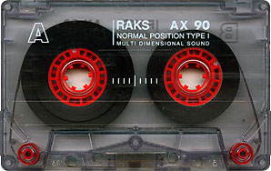 RAKS audio kazetta
