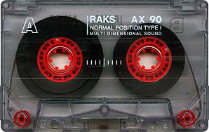 RAKS audio kazetta