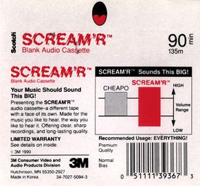 Project C-90 | Catalogue | Compact cassettes | Scotch - 3M